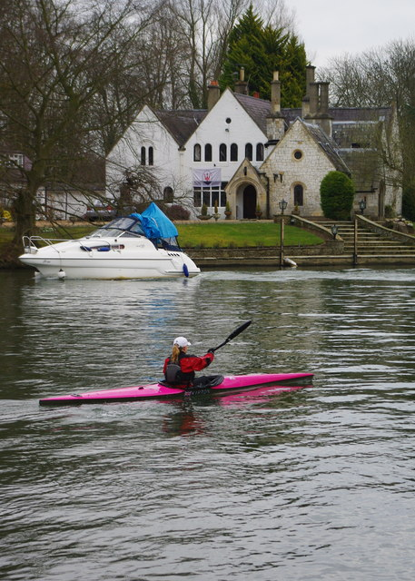 On the Thames at Runnymede