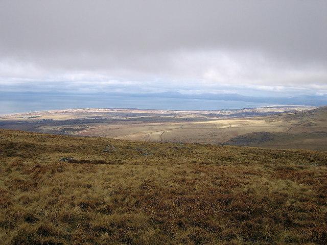 Ardudwy from the Diffwys ridge