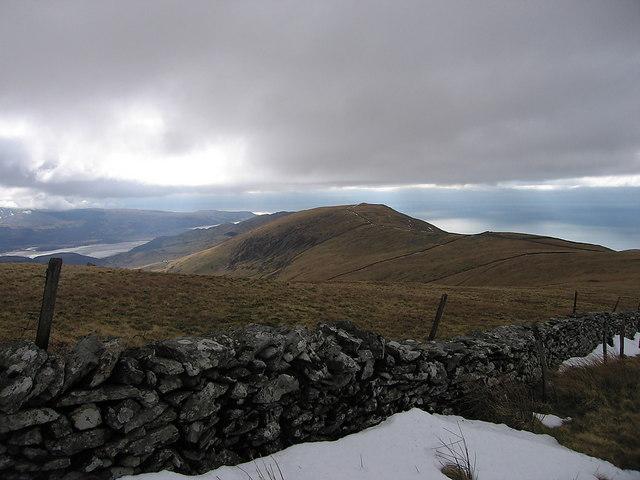 Southern Diffwys ridge