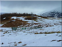 NN3578 : Weather station by Dave Fergusson