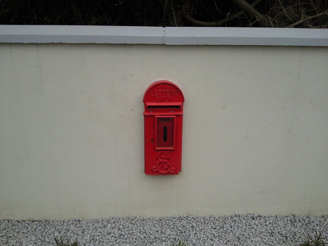 Postbox for private house