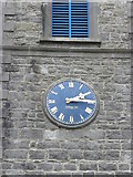 N5580 : The clock on St. Bride's Church of Ireland, Oldcastle by HENRY CLARK