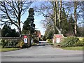 SP3168 : Entrance to Jephson House, Stoneleigh Road, Leamington Spa by David P Howard