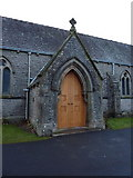 SD3876 : The Parish Church of Mary Allithwaite, Porch by Alexander P Kapp