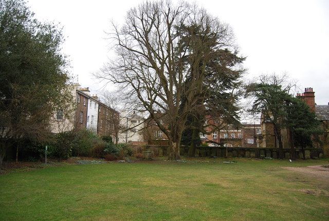 Old Churchyard, Trinity Arts Centre by N Chadwick