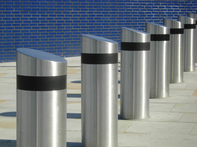 City Road bollards