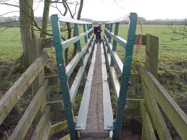 Bridge Over Drain