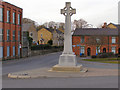 SD7711 : Walshaw Cross War Memorial by David Dixon