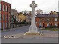 SD7711 : Walshaw Cross War Memorial by David Dixon