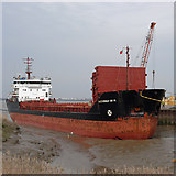 "TA0623 : ""Alexander Grin"" at Old Ferry Wharf, Barrow Haven by David Wright"