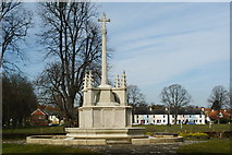 SU8604 : War Memorial at the Litten, Chichester, Sussex (2) by Peter Trimming