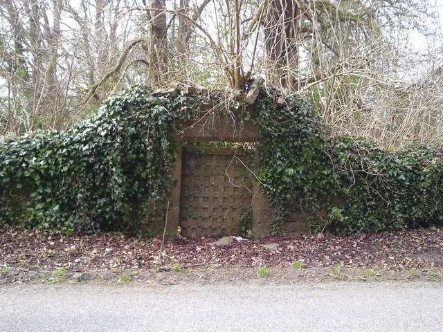Gate, Dunsany Castle, Co Meath