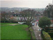TM2863 : Framlingham viewed from the Castle by Chris Gunns