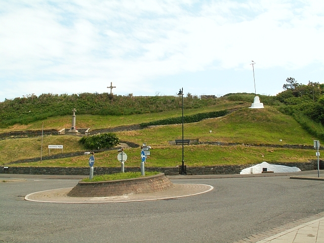 Roundabout in front of Maxwell Park