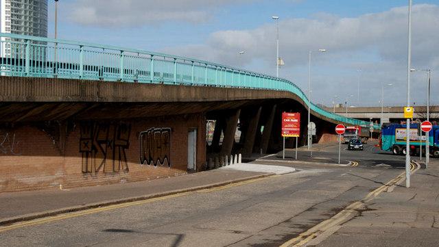 Station Street/Bridge End flyover, Belfast (6)