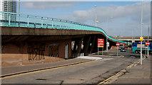 J3474 : Station Street/Bridge End flyover, Belfast (6) by Albert Bridge