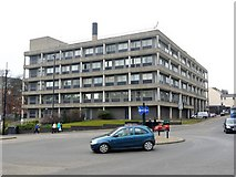 NZ2465 : Ridley Building, Newcastle University from Claremont Road by Andrew Curtis