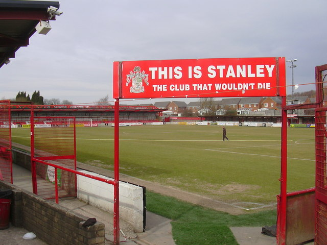 The Pitch, Accrington Stanley Football Club, Fraser Eagle Stadium, Livingstone Road, Accrington, Lancashire BB5 5BX