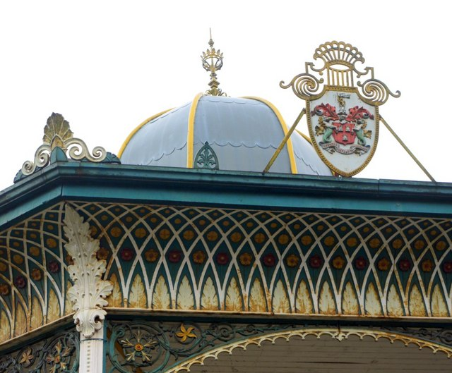 Bandstand, Exhibition Park (detail)