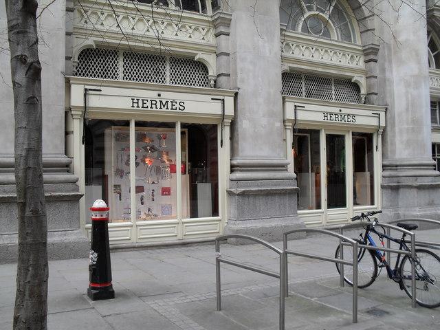 Hermes at The Royal Exchange