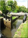 SU6269 : Closing the lock gates by Sandy B