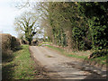TL9891 : View west along Bradcar Road by Evelyn Simak