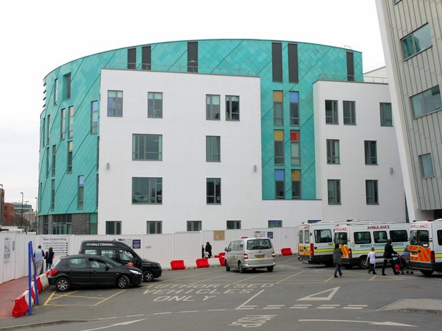 Great North Children's Hospital, Royal Victoria Infirmary