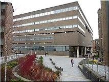 NZ2465 : Merz Court, Newcastle University by Andrew Curtis