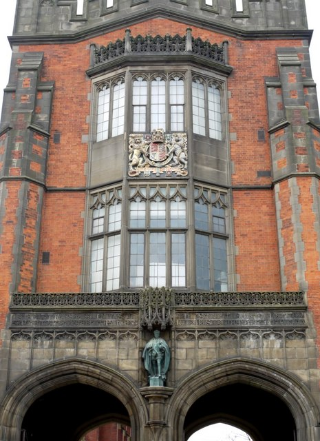 The Arches, King's Road, Newcastle University (detail)