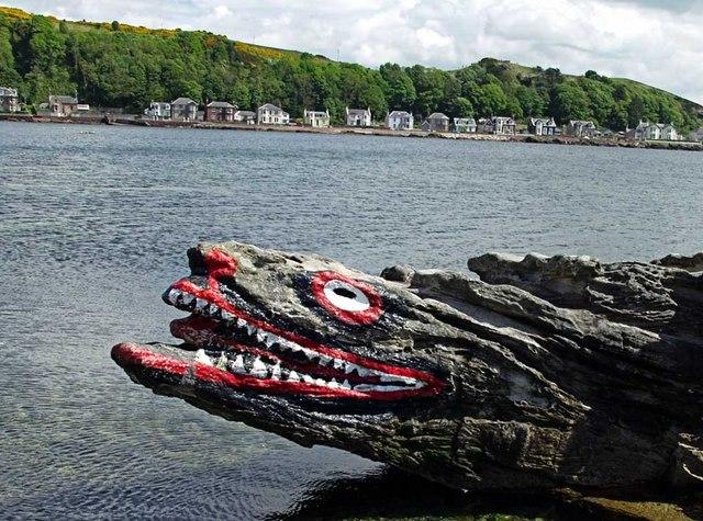 The crocodile, Great Cumbrae