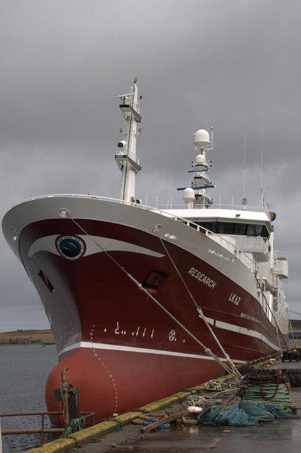 MV Research in Lerwick