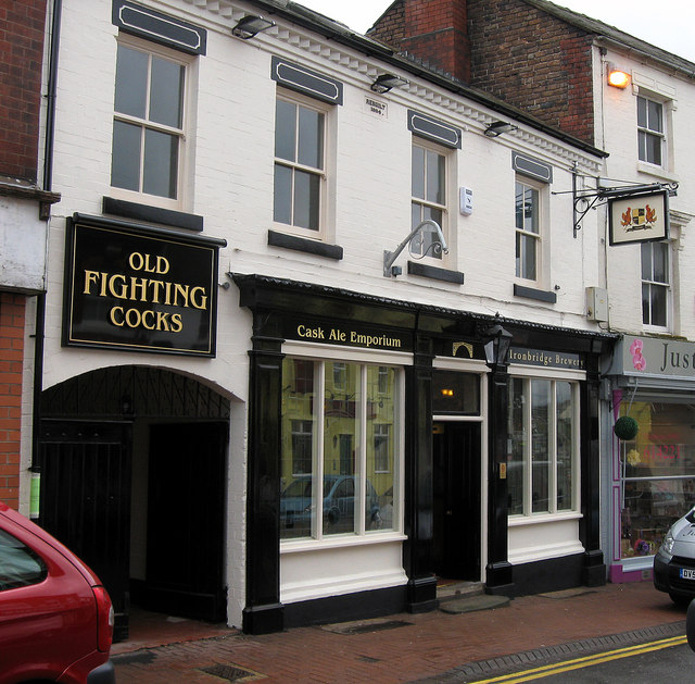 Old Fighting Cocks, Market St. Oakengates