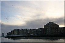 TQ3680 : Columbia Wharf by Andrew Wood