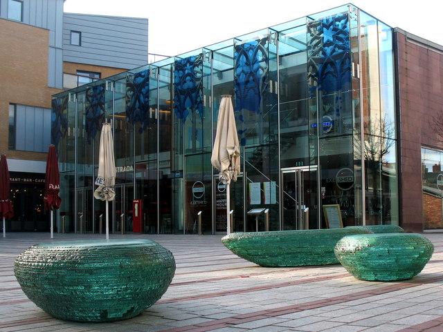 Exeter, Glass Seats, Princesshay