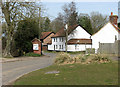 TL9992 : Sallow Lane / Hargham Road junction, North End - Snetterton by Evelyn Simak