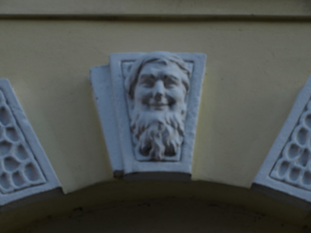 Keystone carving, High Pavement
