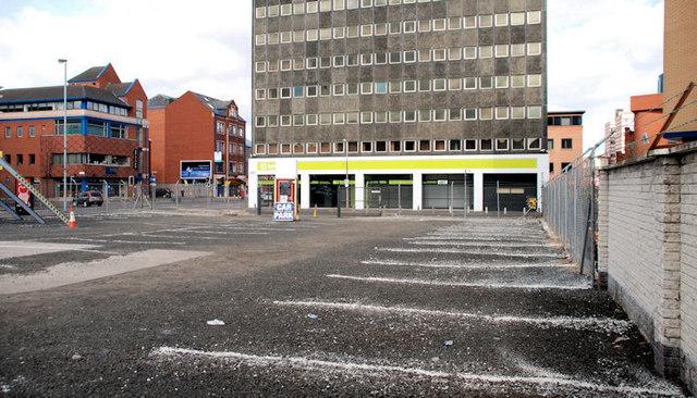 """The """"Aurora"""" site, Belfast (2)"""