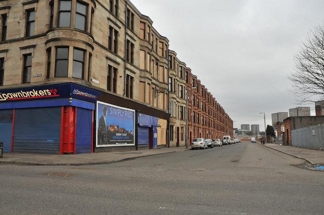 Southcroft Street taken from Govan Road