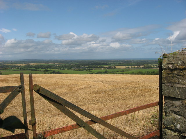 View from Bellewstown Hill, Co Meath