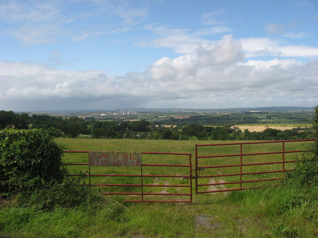 View from Bellewstown Hill