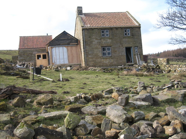 Renovation at Dale Head   (view north-west)