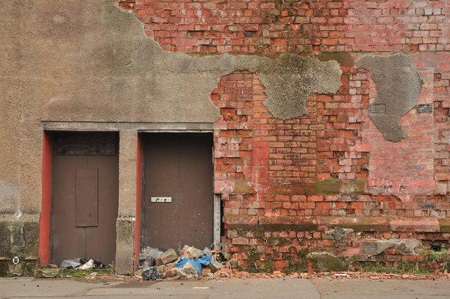 Wall on Fairley Street, Govan