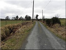C1608 : Road at Ballyboe by Kenneth  Allen