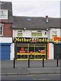 SE2534 : Mother India Takeaway - Stanningley Road by Betty Longbottom