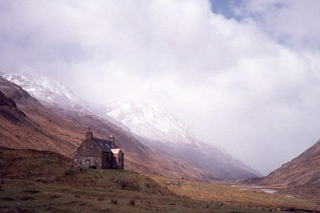 Glenlicht House in 1977