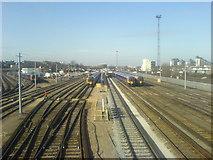 TQ2775 : Sidings at Clapham Junction by David Martin