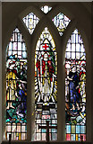 TM1579 : The church of St Andrew in Scole - south aisle east window by Evelyn Simak