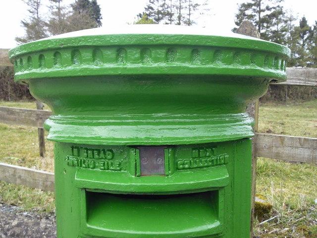 Postbox, Drumree, Co Meath (detail)