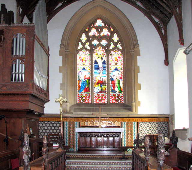 The church of SS Peter and Paul in Brockdish - the chancel