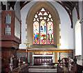 TM2079 : The church of SS Peter and Paul in Brockdish - the chancel by Evelyn Simak